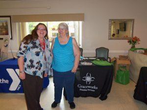 Geri and Service Coordinator Kristina